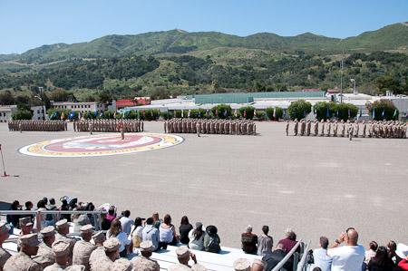 Formation at Camp Pendleton, CA